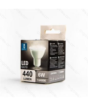 LAMPADA LED GU10 6W 6400K
