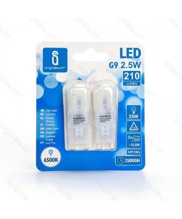 LAMPADA LED G9 2.5W 6500K...