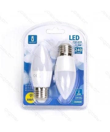 LAMPADA LED A5 C37 E27 3W...