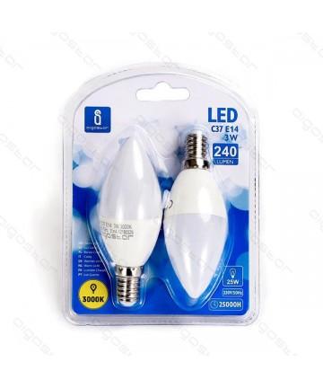 LAMPADA LED A5 C37 E14 3W...