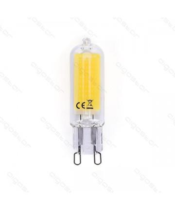 LAMPADA LED G9 3W 3000K/VETRO