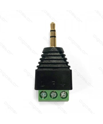 3.5MM STEREO PLUG WITH...