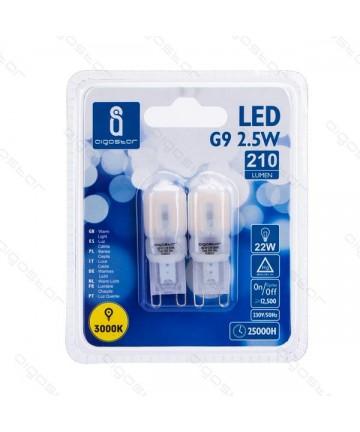 LAMPADA LED  G9 2.5W 3000K...