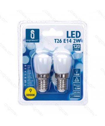LAMPADA LED  T26 E14 2W...